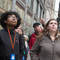 First-Year Humanities Fellows Explore the Culture of Chicago