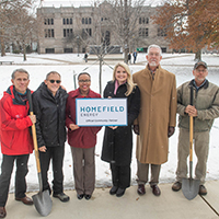 Homefield Energy Helps Replace Campus Trees Lost to Emerald Ash Borer