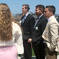Students Network With Chicago Business Leaders