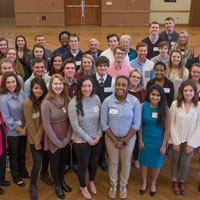 University, Students Celebrate State Farm Scholarship Support