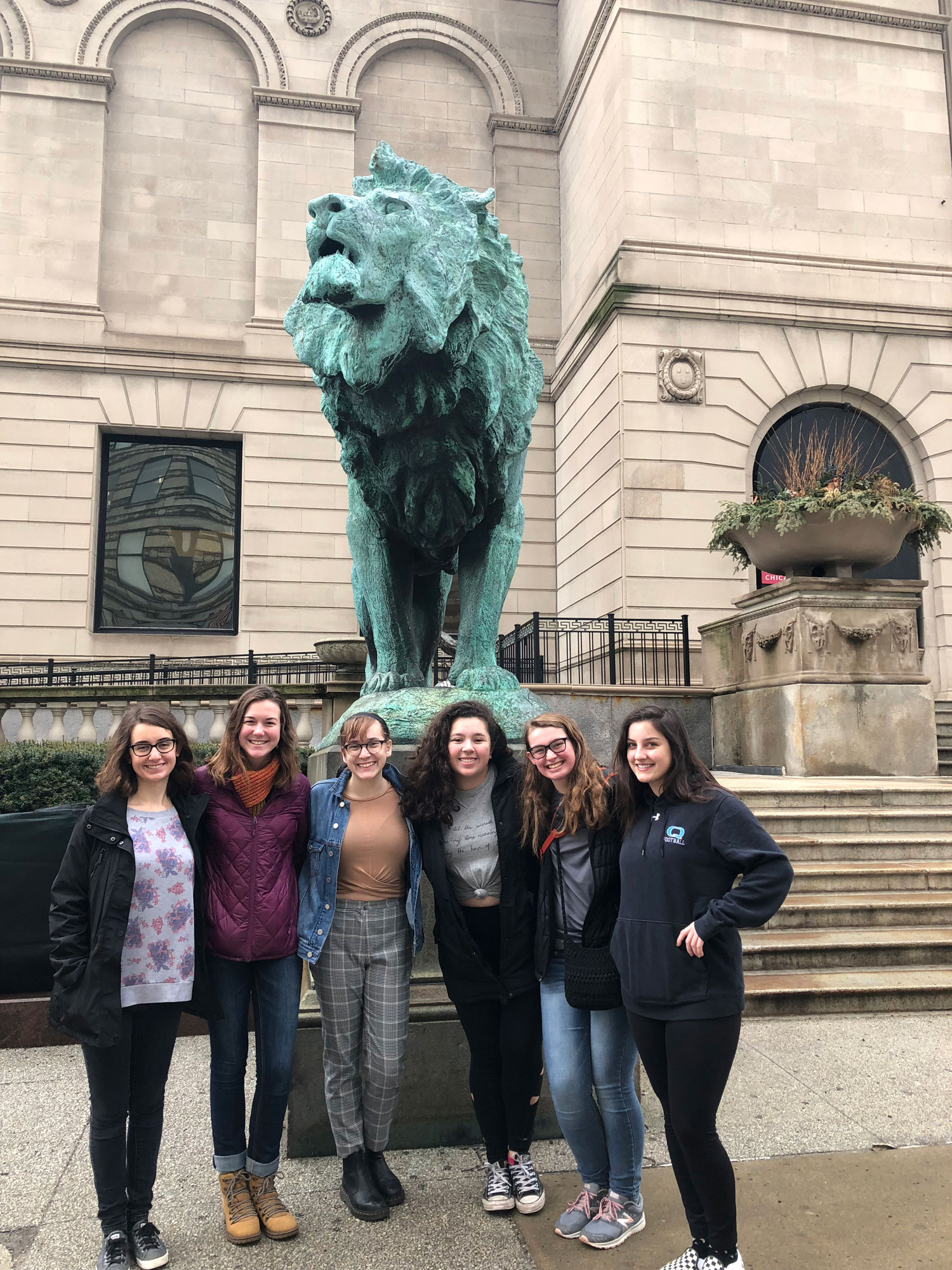 Humanities Fellows visit the Art Institute of Chicago
