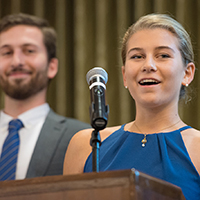 Siblings Thank Benefactors for Investment in Student Success