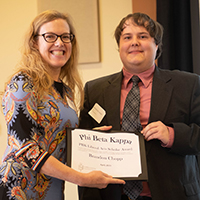 Chopp '19 Earns Phi Beta Kappa Award for Frank Zappa Research
