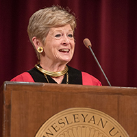 Nugent Addresses Quest for Truth at President's Convocation