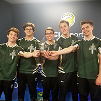 League of Legends Team Captures Championship