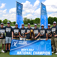 Men's Golf Wins NCAA Division III National Championship