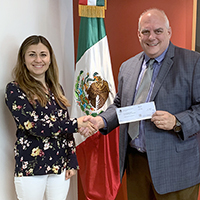 Scholarship Grant Awarded by the Consulado General de México
