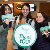 Students Give Thanks on TAG Day