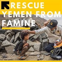 "Students Campaign to ""Rescue Yemen from Famine"""