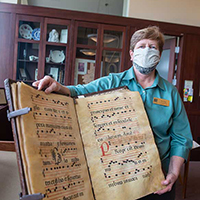 The Ames Library Partners to Digitize Medieval Manuscripts