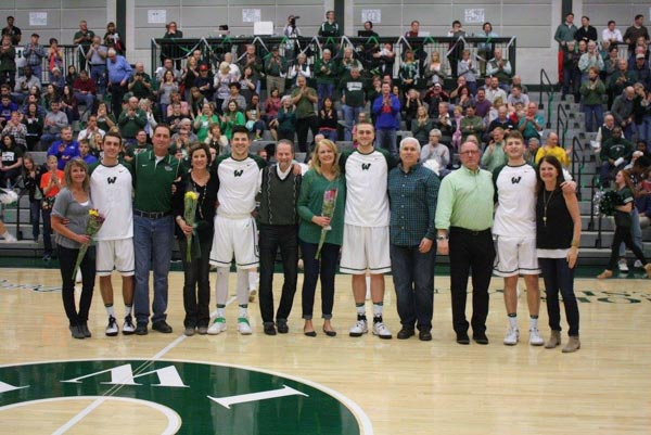 Senior Day Men's Basketball