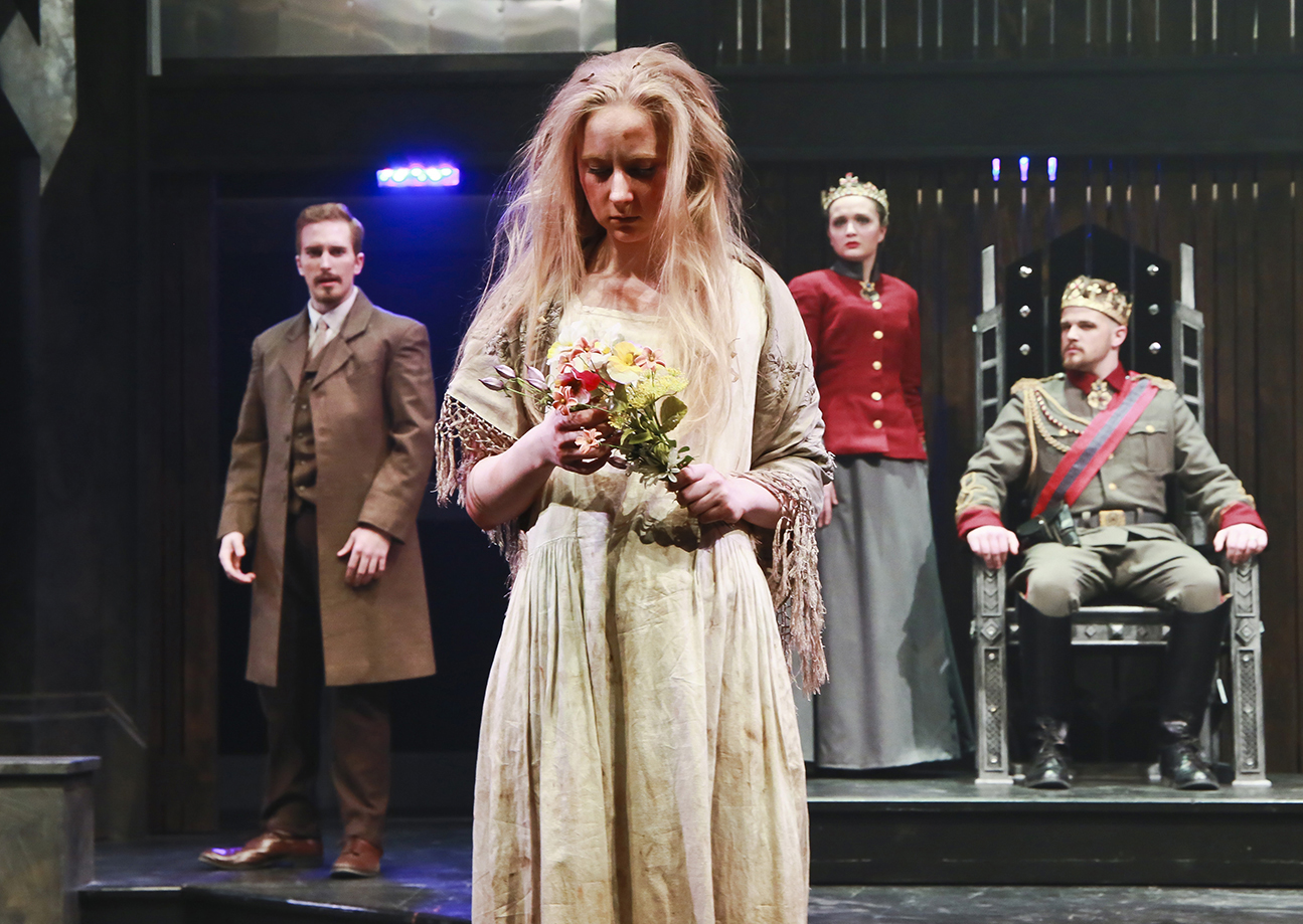 Maggie as Ophelia