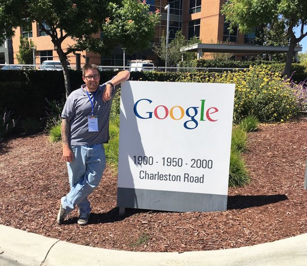 Tim Leiser '16 attended the Google Summer Scholar's Retreat at the Googleplex in Mountain View, CA