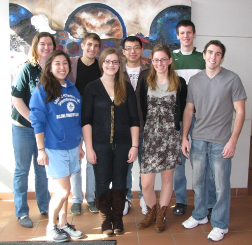 2011-2012 Political Science Lab Assistants