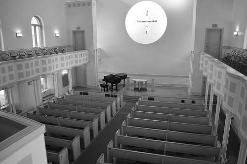 Evelyn Chapel Interior