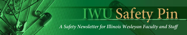 A safety newsletter for faculty and staff